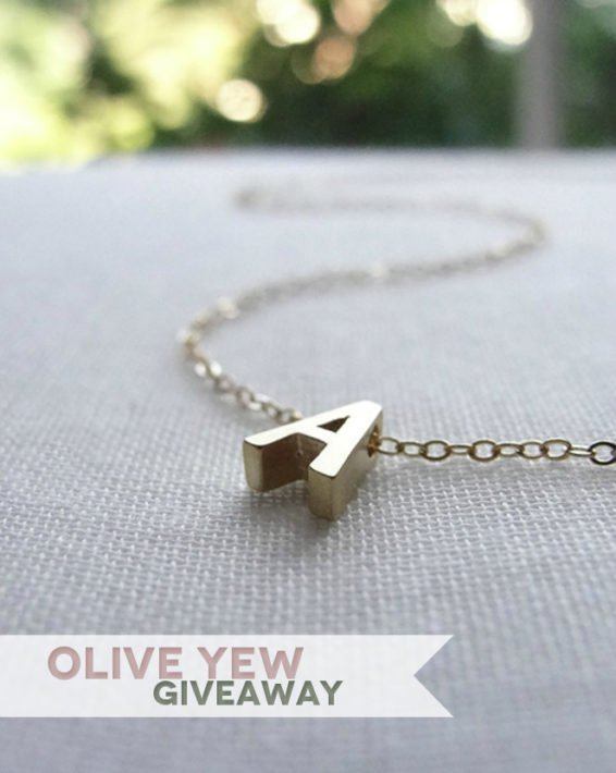 OLIVE YEW JEWELS GIVEAWAY!