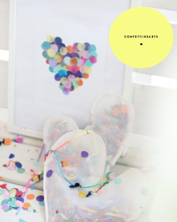 DIY DIARIES: CONFETTI HEARTS CLUB