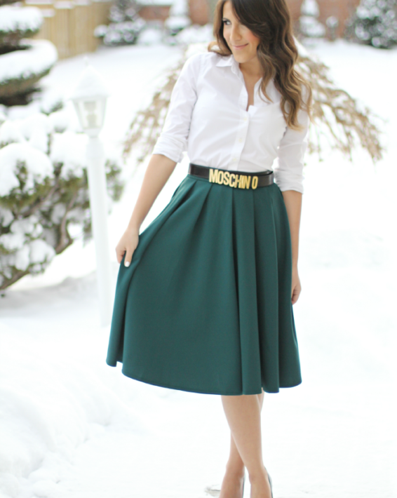 HOLIDAY DRESSING: EMERALD & GOLD