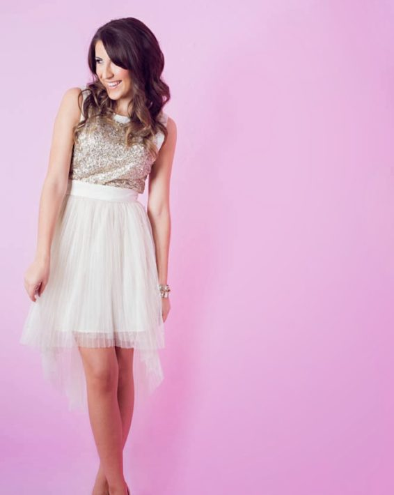 HOLIDAY DRESSING: FROSTED PINK
