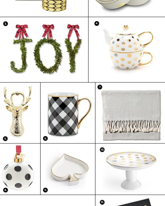 HOLIDAY GIFT GUIDE: THE HOSTESS