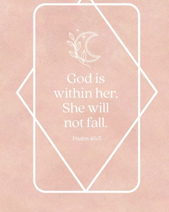Weekly Devotional: She Will Not Fall