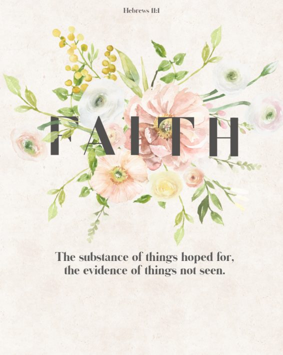 Weekly Devotional: Faith