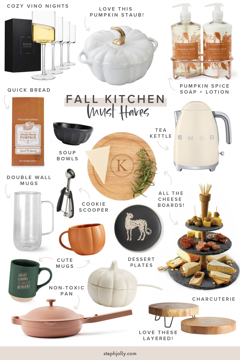 Kitchen Must-Haves For Cozy Season - STEPH JOLLY