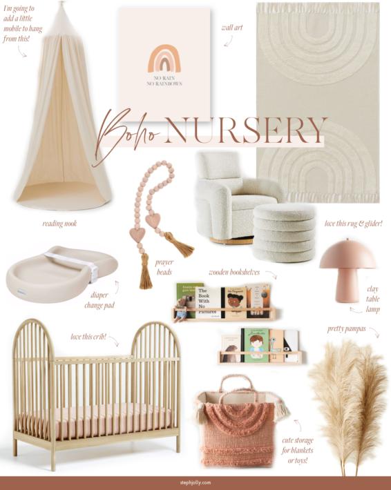 Nursery Inspiration for Baby Jolly