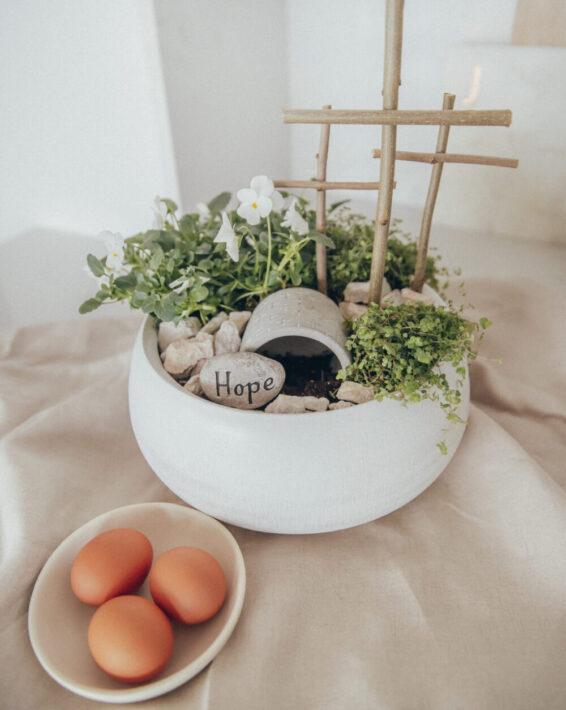 DIY Resurrection Garden For Easter
